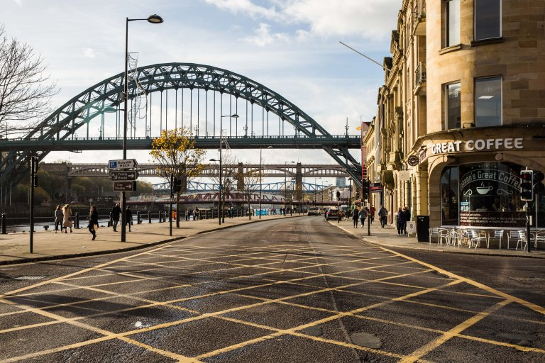 Rebecca Gibson Newcastle Bridge Street